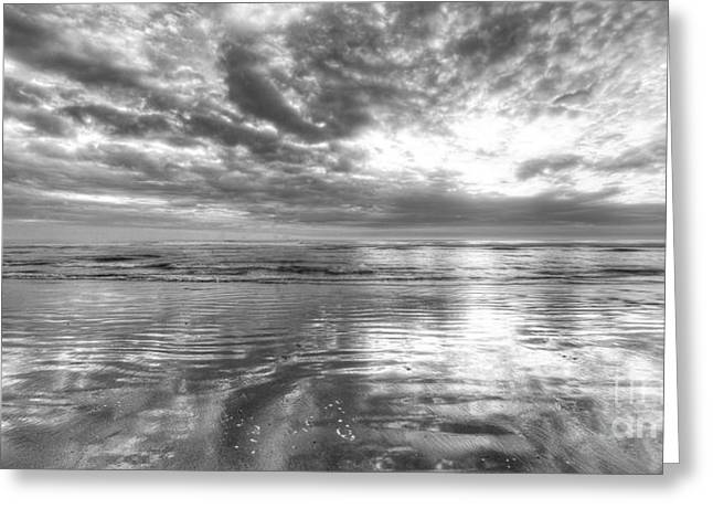 Pacific Ocean Prints Greeting Cards - Second Beach Greeting Card by Twenty Two North Photography
