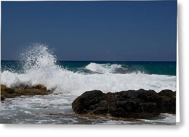 Koloa Greeting Cards - Secret Beach Greeting Card by Steven Lapkin