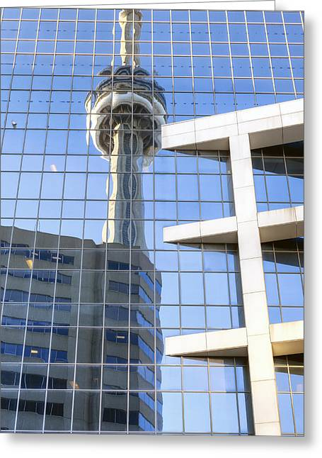 Television Tower Greeting Cards - Toronto Greeting Card by Joana Kruse