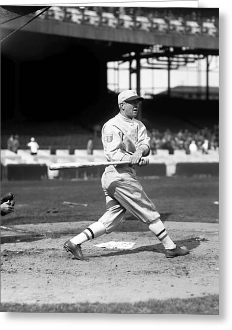 Spokes Greeting Cards - Tristram E. Tris Speaker Greeting Card by Retro Images Archive