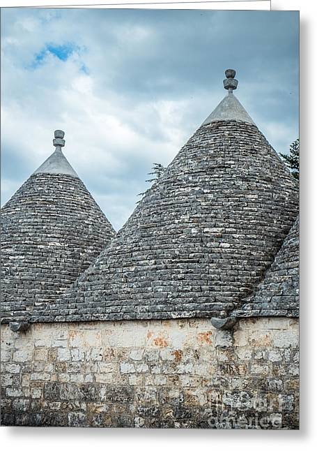 Trulli Greeting Cards - Trulli house Greeting Card by Sabino Parente