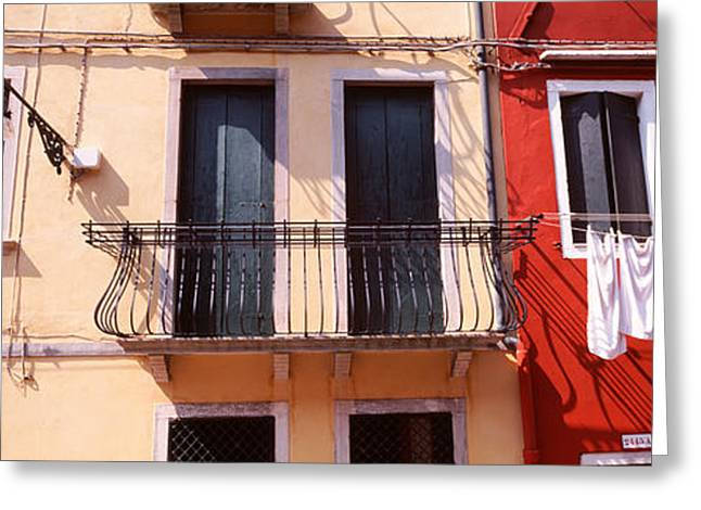 Brightly Colored Greeting Cards - Venice, Italy Greeting Card by Panoramic Images
