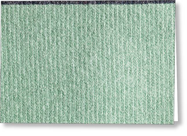 Tailor Greeting Cards - Wool background Greeting Card by Tom Gowanlock