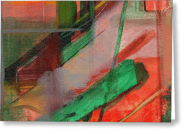 Abstract River Greeting Cards - RCNpaintings.com Greeting Card by Chris N Rohrbach