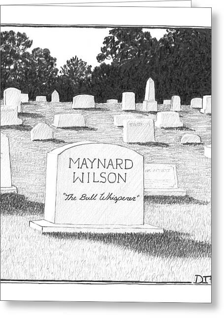 Untitled Greeting Card by Matthew Diffee