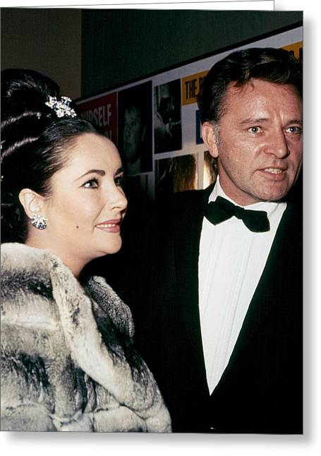 Burton Greeting Cards - Elizabeth Taylor Greeting Card by Silver Screen
