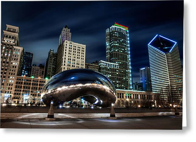 Recently Sold -  - The Bean Greeting Cards - 87 Seconds Greeting Card by Luke Strothman