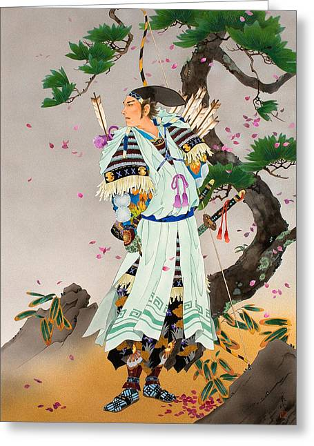 Haruyo Morita Greeting Cards - Untitled Greeting Card by