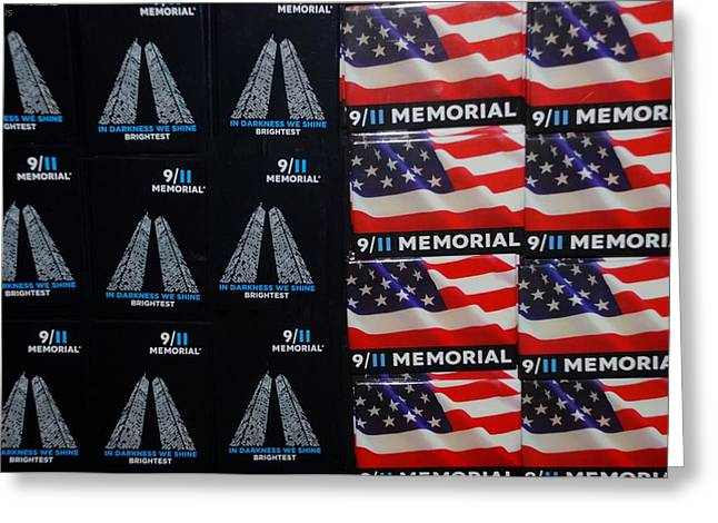 9/11 Memorial For Sale Greeting Card by Rob Hans