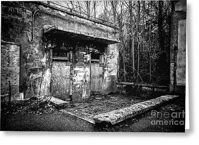 Ruinous Greeting Cards - Abandoned Sanatorium Greeting Card by Traven Milovich