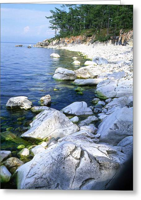 Landscape Photos Greeting Cards - Baikal Greeting Card by Anonymous