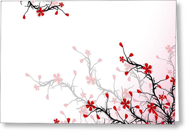 Flower Blossom Greeting Cards - Blossom Cherry  Greeting Card by IB Photo