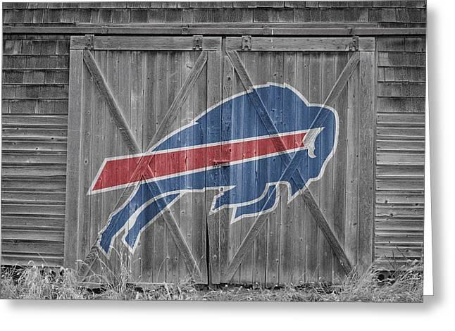 Bills Greeting Cards - Buffalo Bills Greeting Card by Joe Hamilton