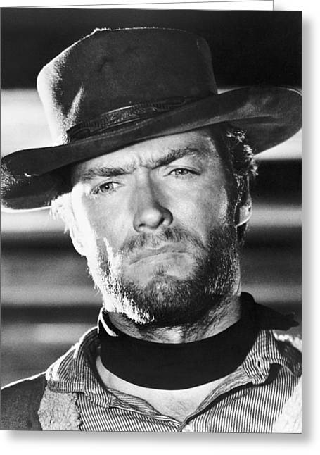 Clint Eastwood Greeting Cards - Clint Eastwood Greeting Card by Silver Screen