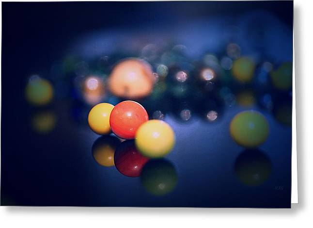 Marble Eye Greeting Cards - Colorful Marbels29 Greeting Card by Michael James Greene