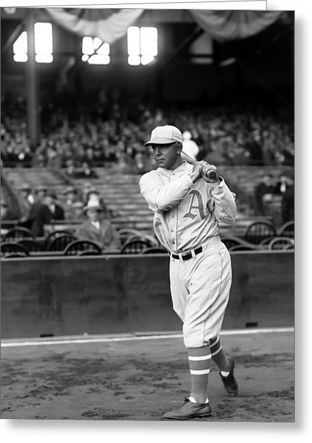 American League Greeting Cards - Edmund J. Bing Miller Greeting Card by Retro Images Archive