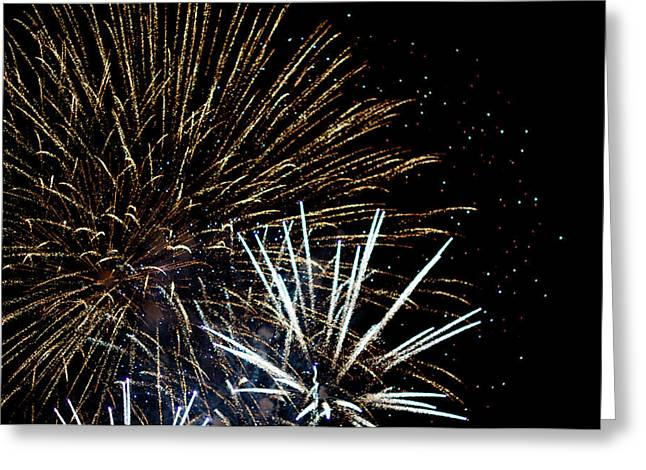 Pyrotechnics Greeting Cards - Fireworks Greeting Card by Frank Gaertner