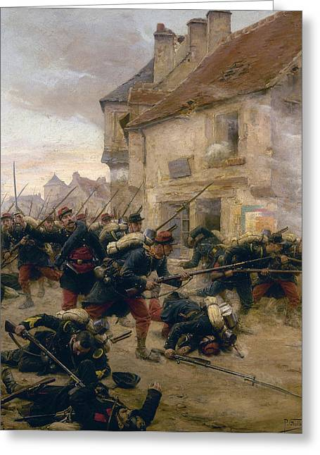 Franco-prussian War, 1870 Greeting Card by Granger