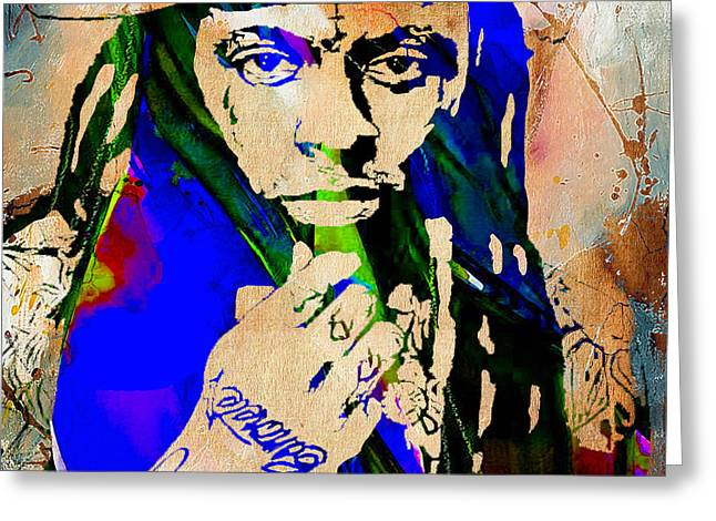 Little Wayne Greeting Cards - Lil Wayne Collection Greeting Card by Marvin Blaine