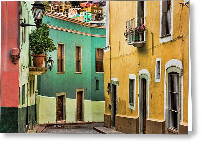Mexico, Guanajuato Greeting Card by Jaynes Gallery