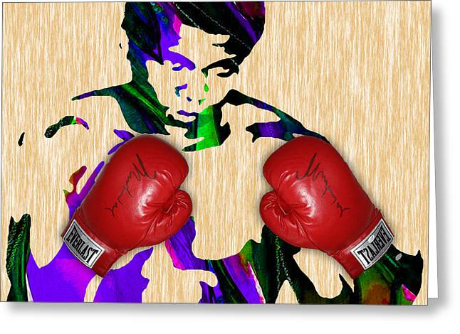 Cassius Clay Greeting Cards - Muhammad Ali Collection Greeting Card by Marvin Blaine