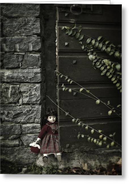 Doll Photographs Greeting Cards - Old Doll Greeting Card by Joana Kruse