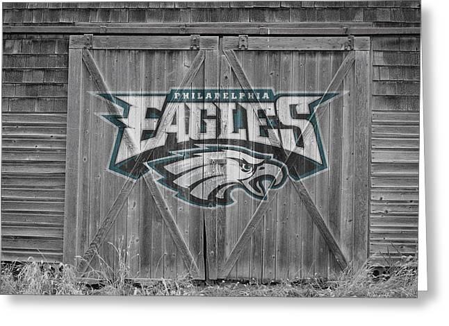 Philadelphia Eagles Greeting Card by Joe Hamilton