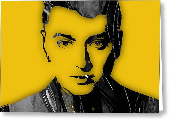 Pop Singer Greeting Cards - Sam Smith Collection Greeting Card by Marvin Blaine