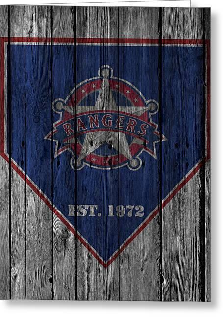 Texas Rangers Greeting Cards - Texas Rangers Greeting Card by Joe Hamilton