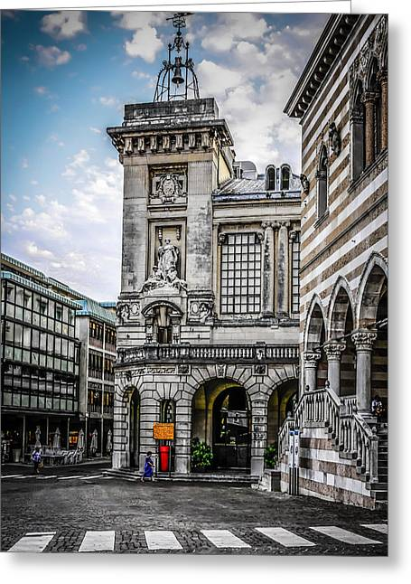 Libertas Greeting Cards - Udine Greeting Card by Chris Smith
