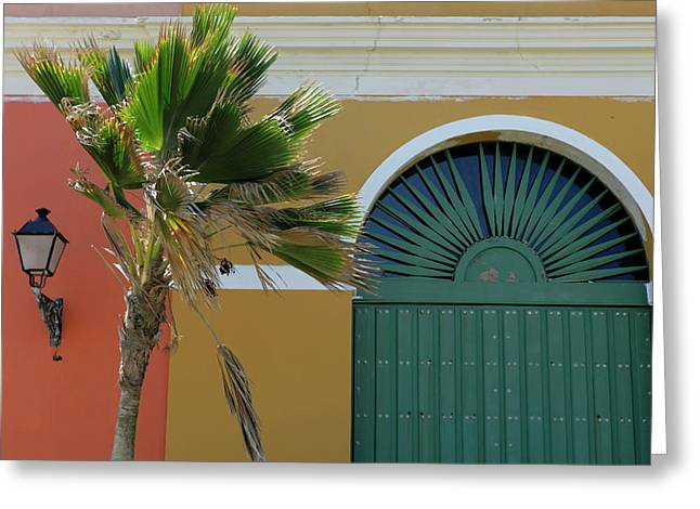 Usa, Puerto Rico, San Juan Greeting Card by Kymri Wilt