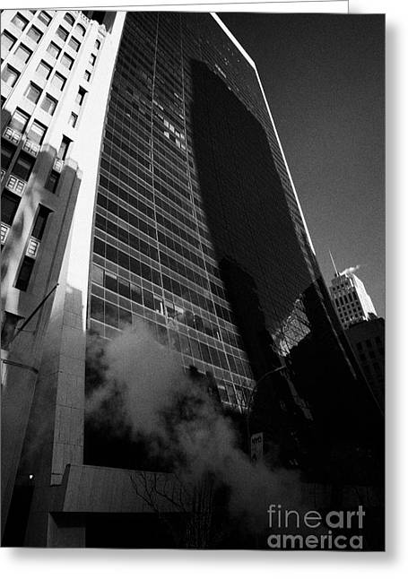 Manhatan Greeting Cards - 9 West 57th Street midtown new york city Greeting Card by Joe Fox