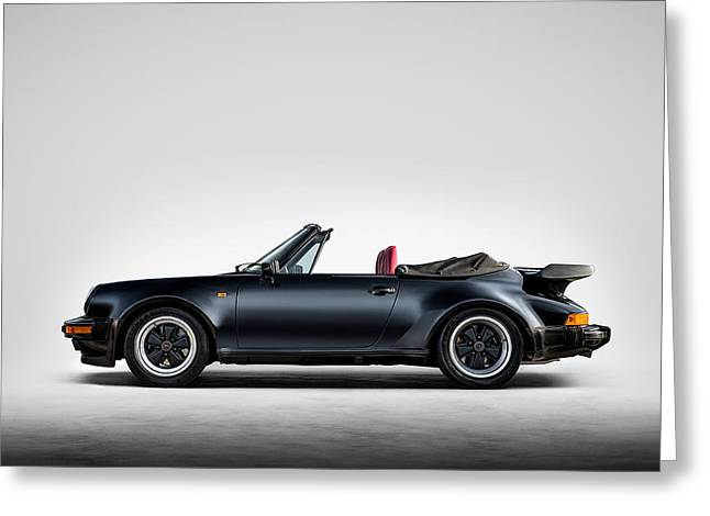 Auto Greeting Cards - 911 Cabrio Greeting Card by Douglas Pittman