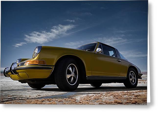 Sportscar Greeting Cards - 911 Targa Greeting Card by Douglas Pittman