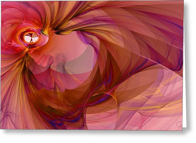 Generative Abstract Greeting Cards - 943 Greeting Card by Lar Matre