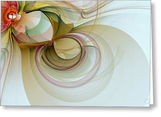 Generative Art Greeting Cards - 969 Greeting Card by Lar Matre