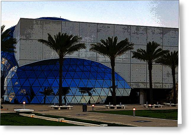 Dali Museum Greeting Cards - Dali Museum work A Greeting Card by David Lee Thompson