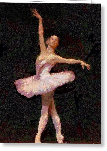 Ballet Of Colors Greeting Cards - A Ballerina Is Made Of  Greeting Card by Catherine Lott