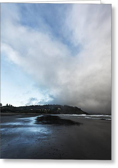 Olympic National Park Greeting Cards - A Beach Like This Greeting Card by Jon Glaser