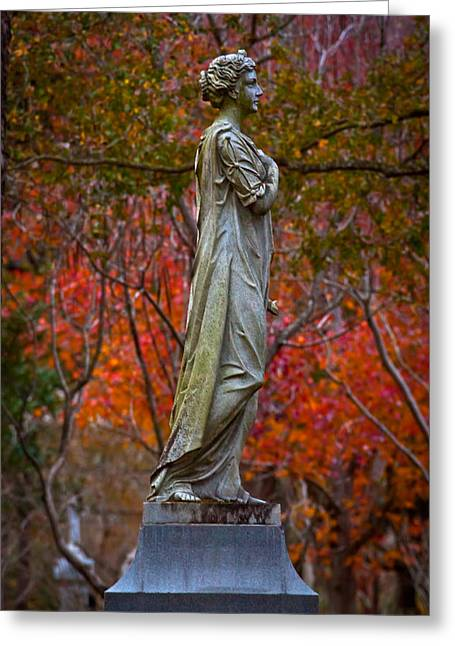 Life-size Greeting Cards - A Beautiful Angel Greeting Card by Linda Unger