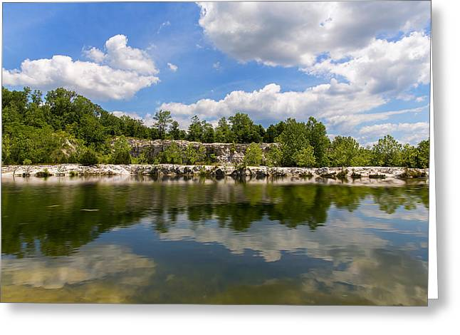 Wentzville Greeting Cards - A Beautiful Day At Klondike Lake Greeting Card by Bill Tiepelman