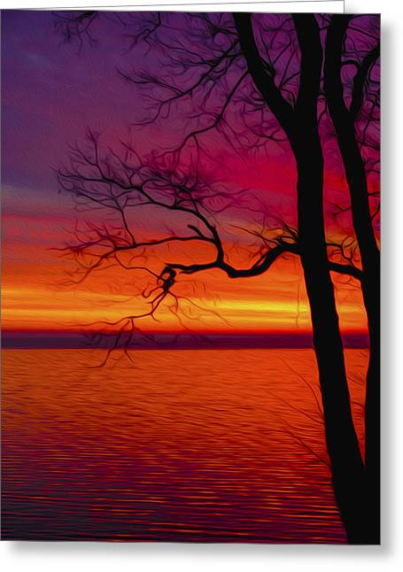 York Beach Greeting Cards - A beautiful way to start the day Greeting Card by Tracy Winter