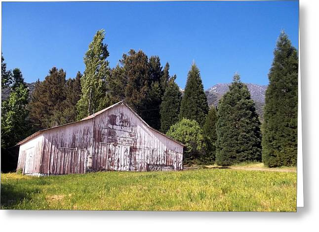 Old Barns Greeting Cards - A Bit Of Country Greeting Card by Glenn McCarthy Art and Photography