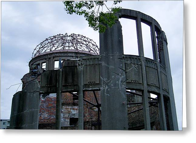 Hiroshima Peace Memorial Greeting Cards - A-bomb Dome I Greeting Card by Duomo Photography