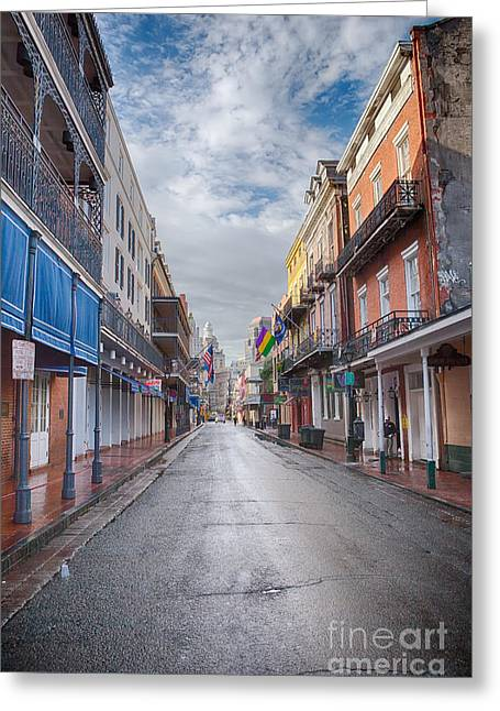 A Bourbon Morning Greeting Card by Kay Pickens