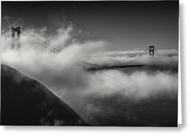 Marin County Greeting Cards - A brand new day... Greeting Card by Eduard Moldoveanu
