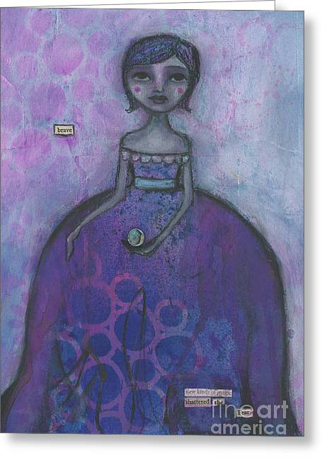A Brave New Magic Greeting Card by Beth Morey