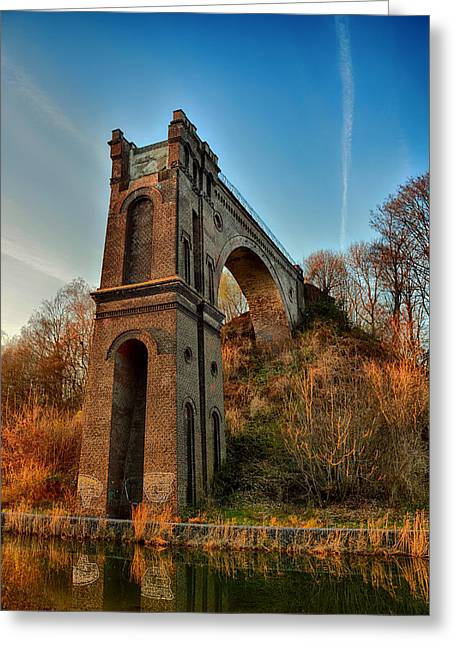 Recently Sold -  - Not In Use Greeting Cards - A Bridge No More Greeting Card by Mountain Dreams