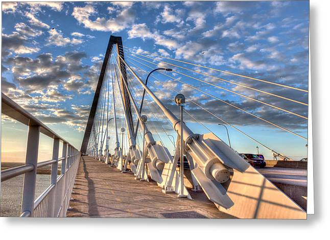 Charleston Greeting Cards - A Bridge to Heaven Greeting Card by Walt  Baker