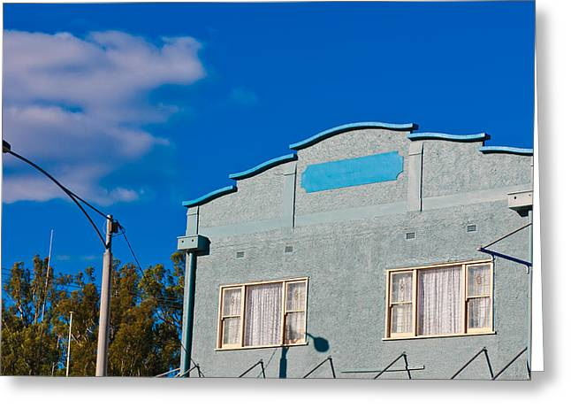 Australia Greeting Cards - A Building With No Name Greeting Card by Paul Donohoe